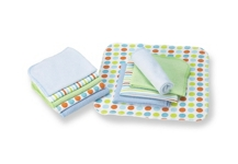 WASCHTUCH 10-teilig - Multicolor, Textil (22/22cm) - MY BABY LOU