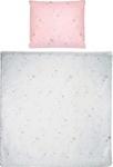 BABYBETTWÄSCHE 80/80 cm - Rosa, Textil (80/80cm) - MY BABY LOU