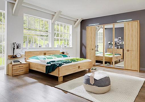 schlafzimmer in birkefarben, erlefarben online kaufen ➤ xxxlutz, Schlafzimmer ideen
