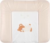 WICKELAUFLAGE ORSO - Creme, Kunststoff (85/72cm) - MY BABY LOU