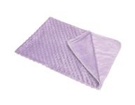 SCHMUSEDECKE 75/100 cm - Lila, Textil (75/100cm) - MY BABY LOU