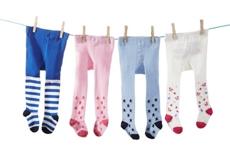 STRUMPFHOSE - Blau/Rosa, Textil (62-92) - MY BABY LOU