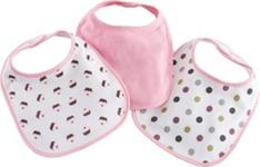 LÄTZCHEN 3-teilig - Pink/Lila, Textil (22/31cm) - MY BABY LOU