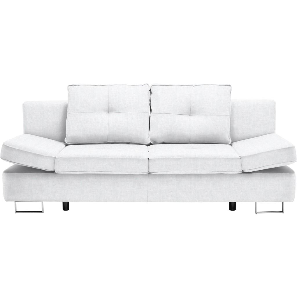 schlafsofa leder weiss preisvergleich die besten angebote online kaufen. Black Bedroom Furniture Sets. Home Design Ideas