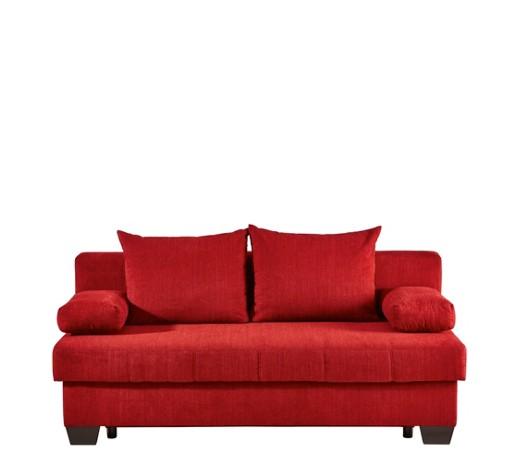Schlafsofa flachgewebe rot online kaufen xxxlshop for Schlafsofa weich