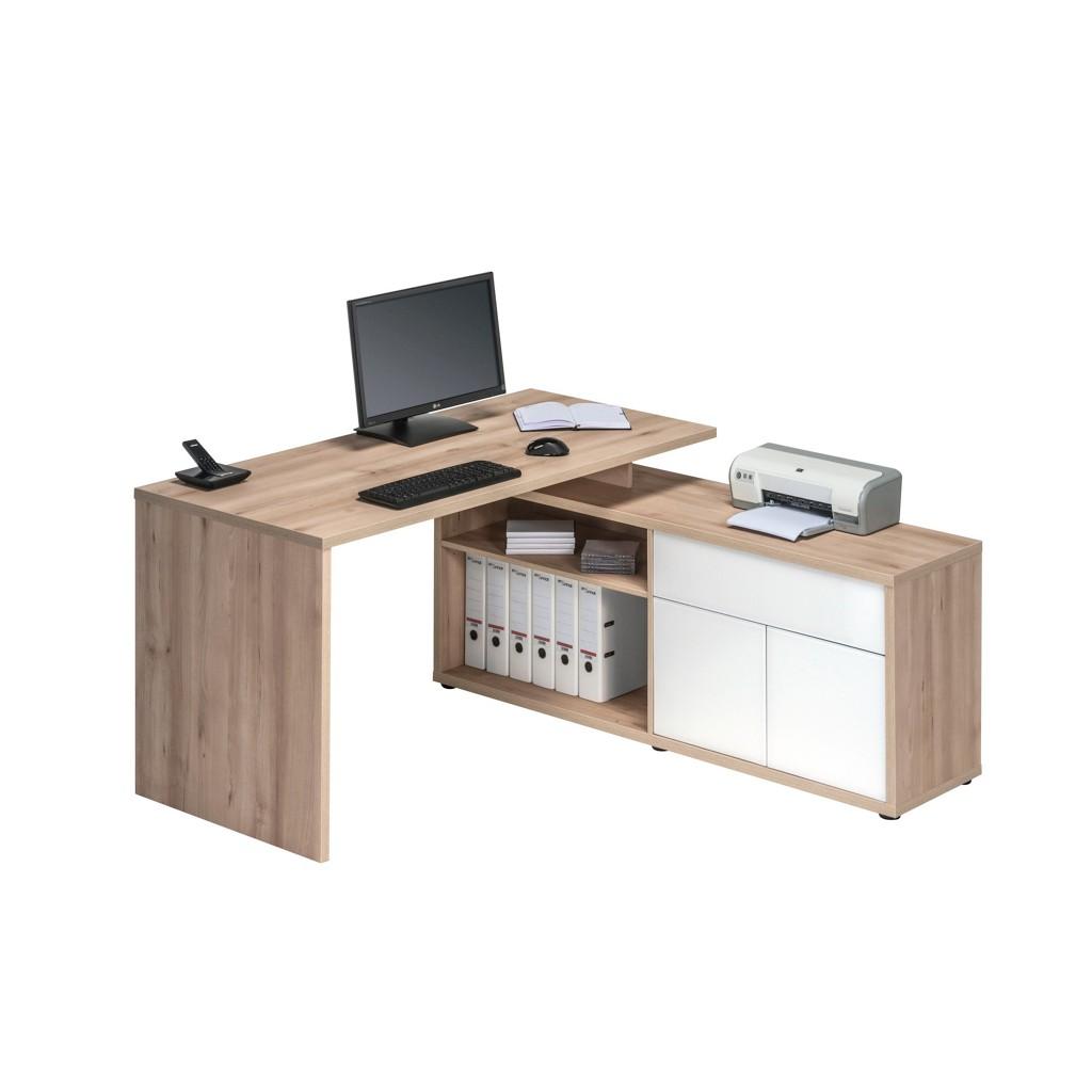 M bel und accessoires f rs b ro online kaufen m bel for Schreibtisch buchefarben