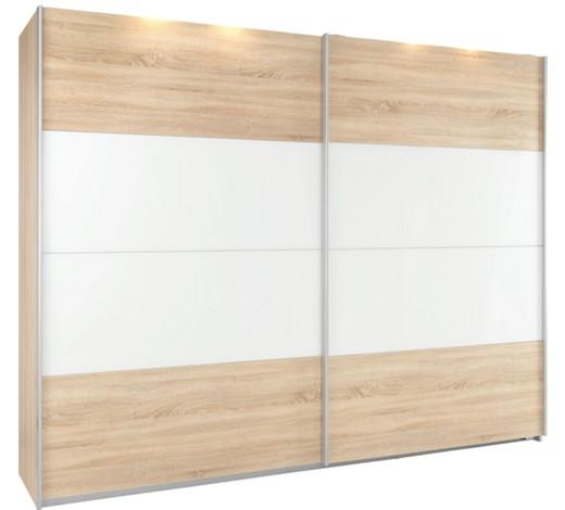 schwebet renschrank 2 t rig sonoma eiche wei online kaufen xxxlshop. Black Bedroom Furniture Sets. Home Design Ideas