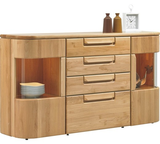 sideboard erle massiv gewachst lackiert seidenmatt. Black Bedroom Furniture Sets. Home Design Ideas