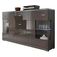 Sideboard holz glas  SIDEBOARD Hochglanz, melaminharzbeschichtet online kaufen ➤ XXXLShop