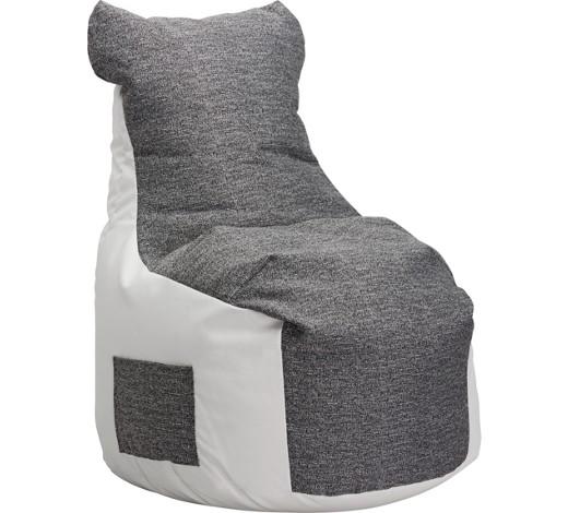 sitzsack grau wei online kaufen xxxlshop. Black Bedroom Furniture Sets. Home Design Ideas