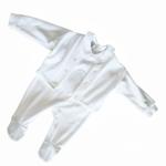 BABYBEKLEIDUNGSSET - Weiß, Textil (62) - MY BABY LOU
