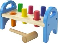 HAMMERBANK - Multicolor, Holz (21/11,8/9,5cm) - MY BABY LOU