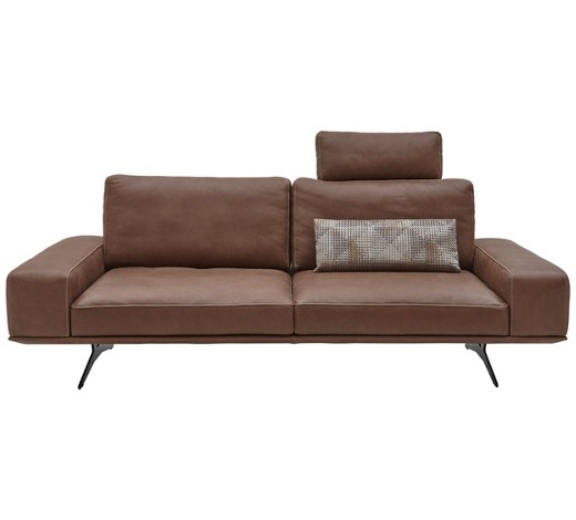 sofa echtleder braun online kaufen xxxlshop. Black Bedroom Furniture Sets. Home Design Ideas