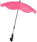 KINDERWAGENSONNENSCHIRM - Pink/Silberfarben, Textil/Metall (75/79cm) - MY BABY LOU