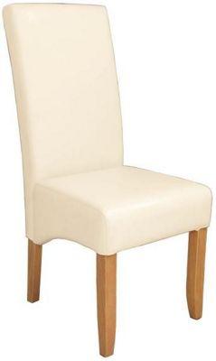 Stuhl In Holz, Textil Beige, Buchefarben