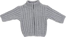 WESTE - Grau, Textil (56) - MY BABY LOU