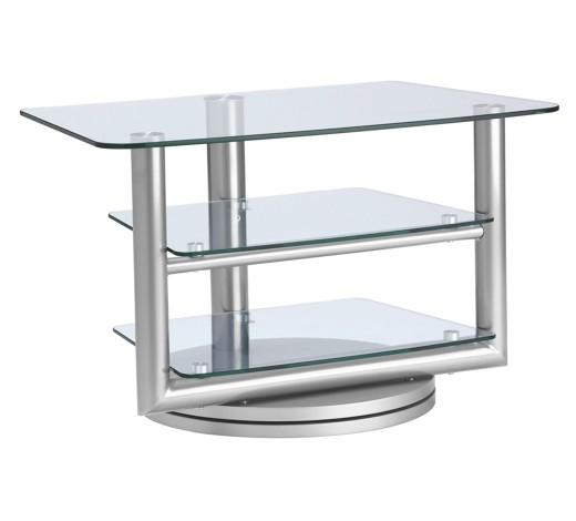 tv rack glas metall klar silberfarben online kaufen xxxlshop. Black Bedroom Furniture Sets. Home Design Ideas