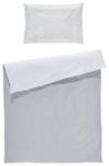 BABYBETTWÄSCHE 100/135 cm - Weiß/Grau, Textil (100/135cm) - MY BABY LOU