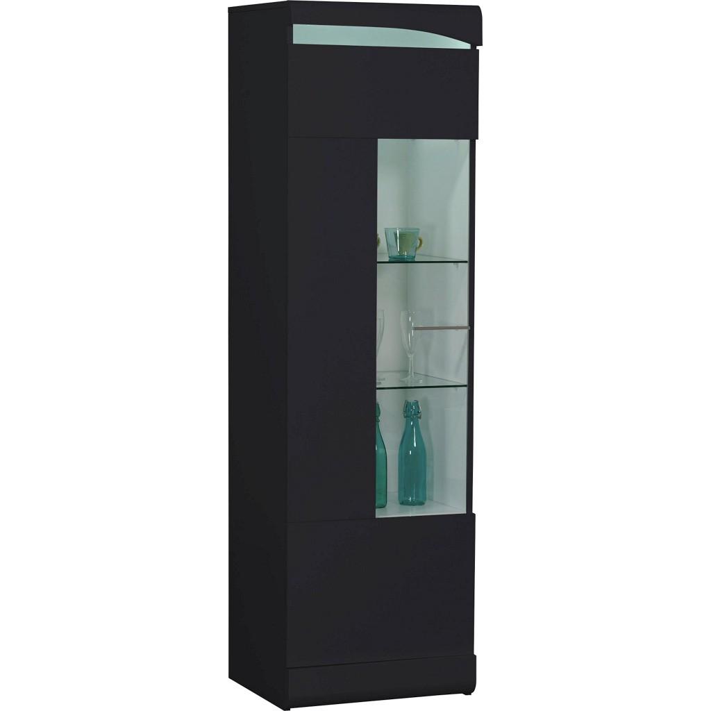schwarz hochglanz vitrine preisvergleich die besten. Black Bedroom Furniture Sets. Home Design Ideas