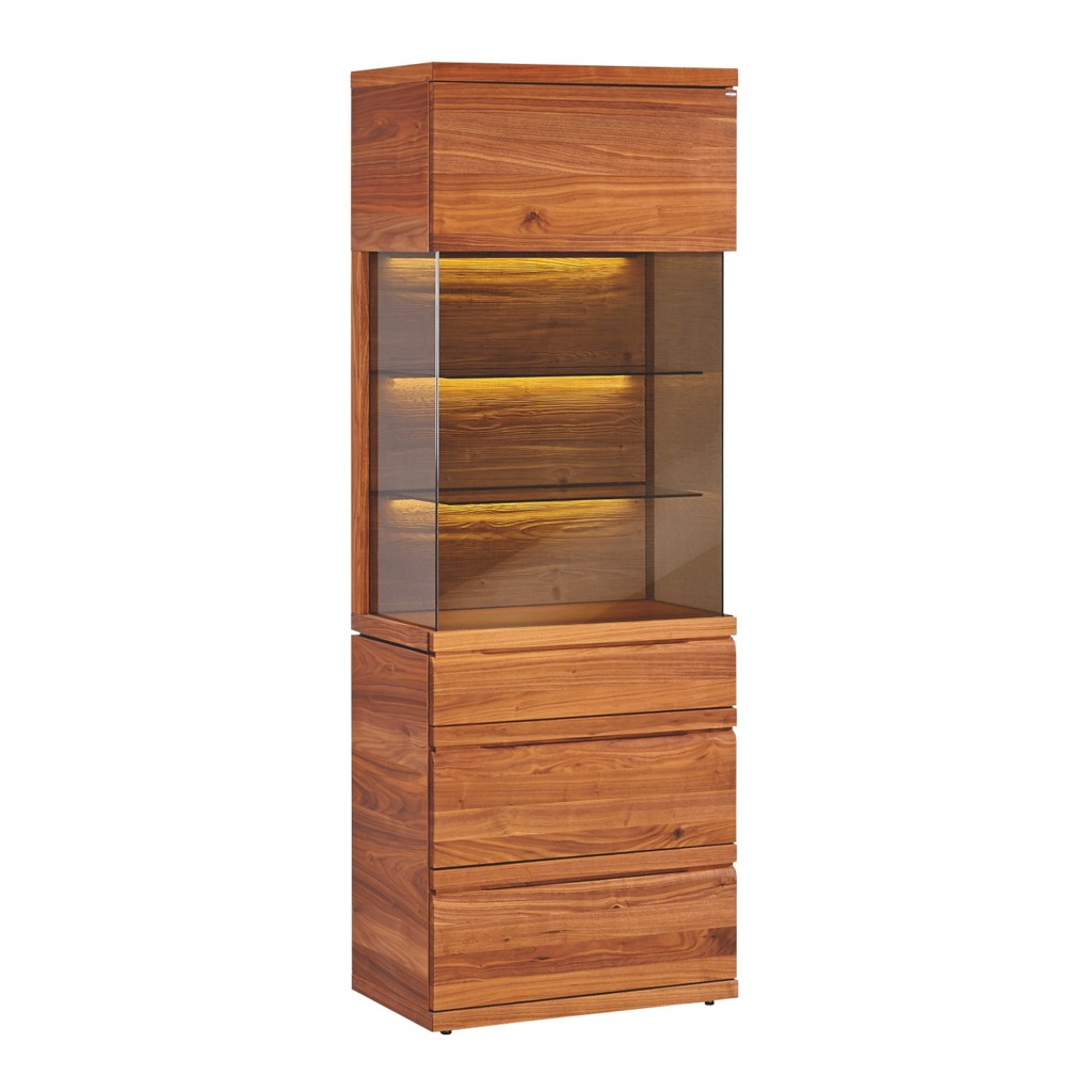 vitrine nussbaum preisvergleich die besten angebote online kaufen. Black Bedroom Furniture Sets. Home Design Ideas