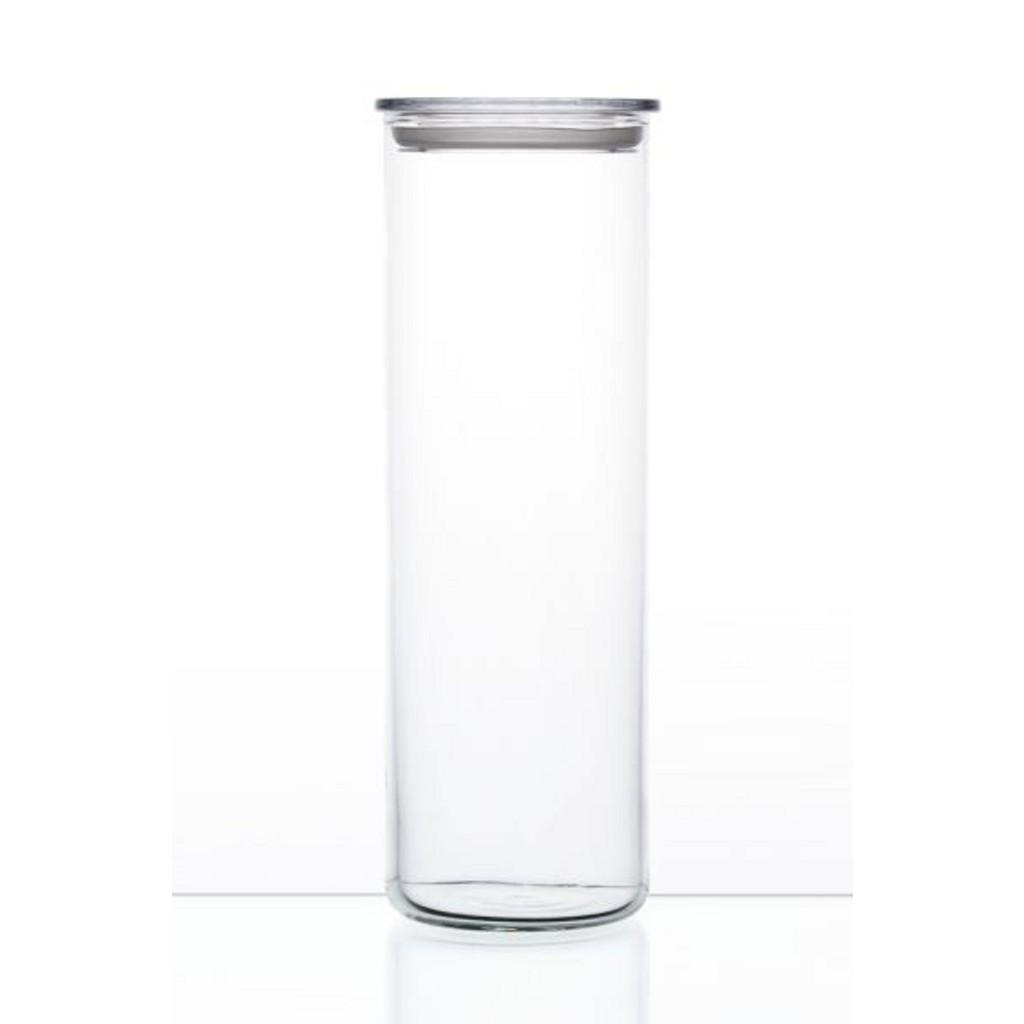 BOHEMIA VORRATSDOSE Glas 2,0 L, Weiß