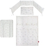 BABYGESCHENKSET 4-teilig - Multicolor/Weiß, Textil - MY BABY LOU
