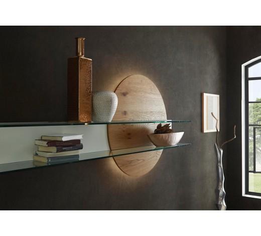 wandboard balkeneiche furniert eichefarben wei online. Black Bedroom Furniture Sets. Home Design Ideas