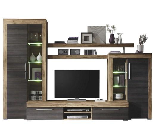 wohnwand dunkelbraun nussbaumfarben online kaufen xxxlshop. Black Bedroom Furniture Sets. Home Design Ideas