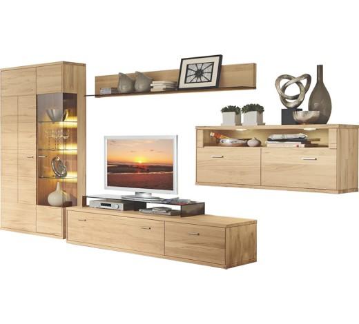 wohnwand eiche massiv eichefarben online kaufen xxxlshop. Black Bedroom Furniture Sets. Home Design Ideas