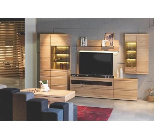 wohnwand wildwalnuss massiv mehrschichtige. Black Bedroom Furniture Sets. Home Design Ideas