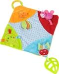 SCHMUSETUCH SPRINGTIME - Multicolor, Kunststoff/Textil (23/23cm) - MY BABY LOU