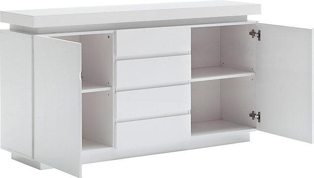 Sideboard Hochglanz Lackiert Weiss Online Kaufen Xxxlshop