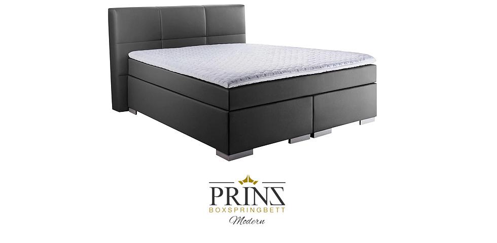 boxspringbett prinz modern. Black Bedroom Furniture Sets. Home Design Ideas
