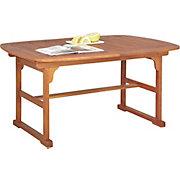 ZAHRADNÍ STŮL - hnědá, Romantický / Rustikální, dřevo (100/74/150/200cm) - AMBIA GARDEN